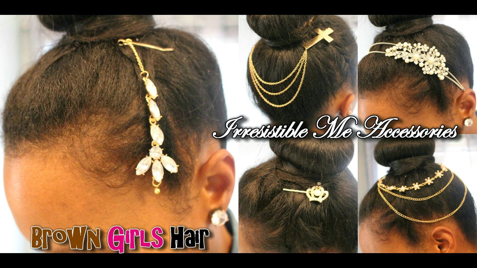 hair, accessories, jewelry, natural, updo, black, women