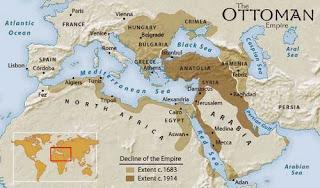 peta dinasti turki ustmani