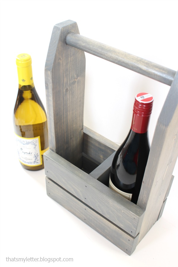 wine carrier for 2 bottles