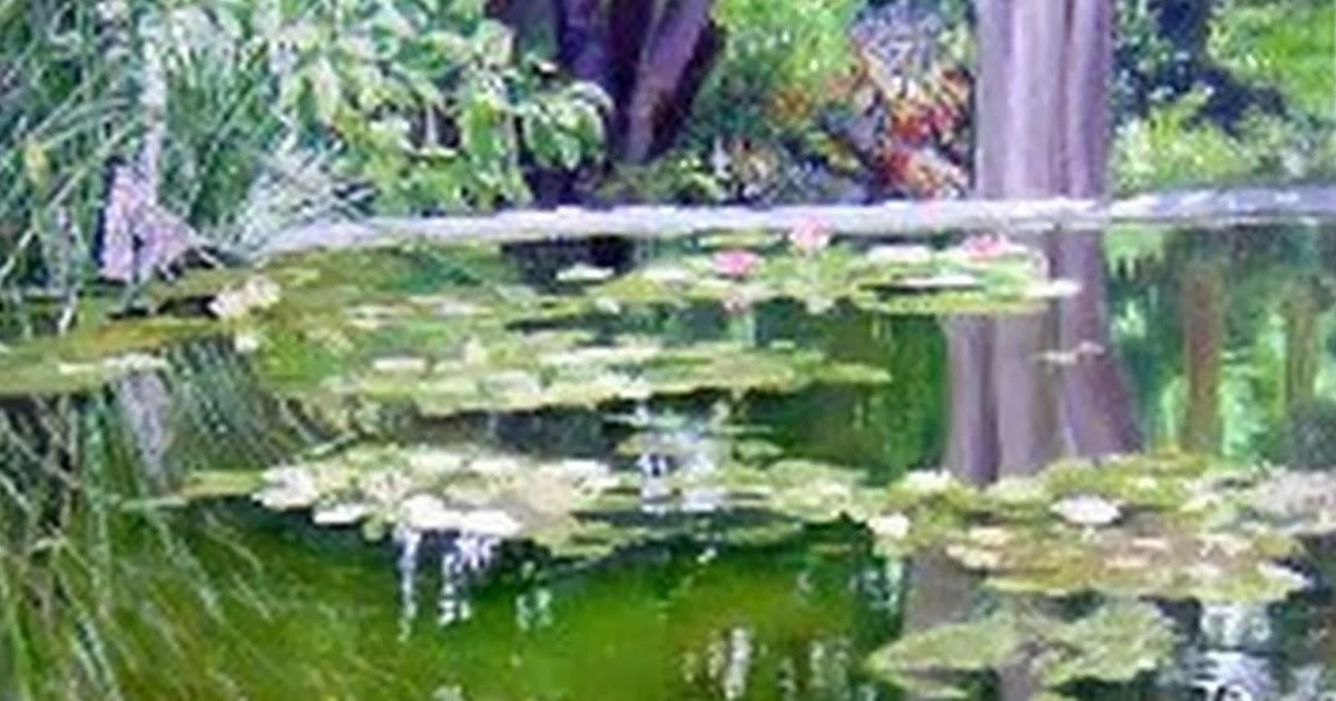 Cuadros Modernos Pinturas Realistas, Paisajes con Flores y Plantas