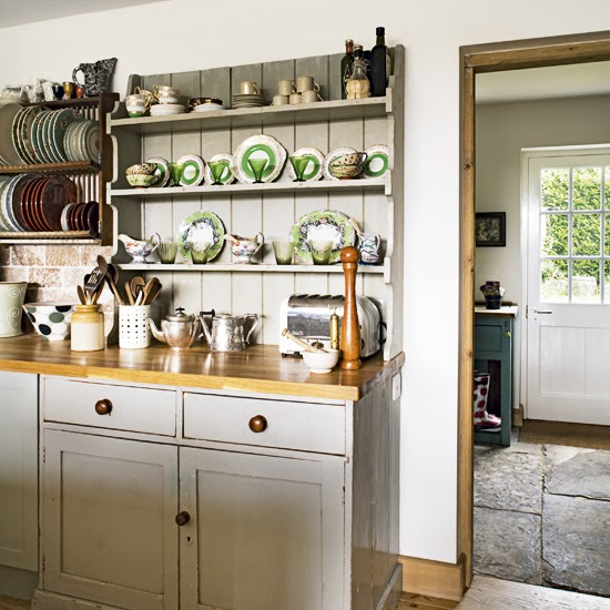 Cottage Kitchen Law Texas: Modern Country Style: Country Kitchen Rule Three: Open