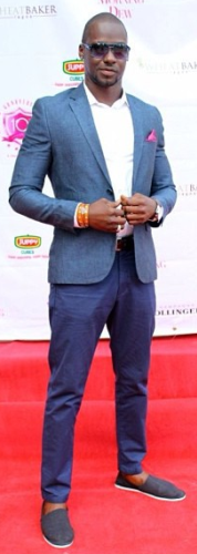 Chris Attoh, Tiwa Savage and Elohor Aisien at Geneveive Magazine Event
