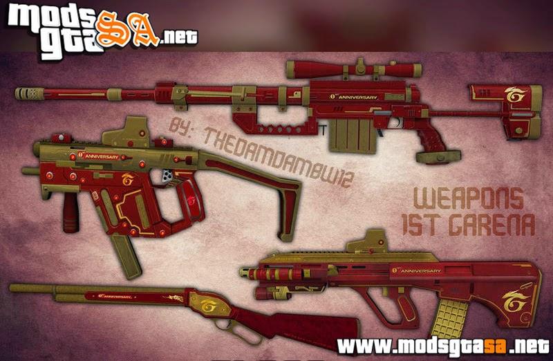 SA - Pack de Armas PointBlank
