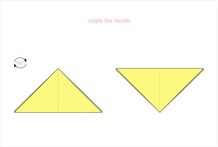 Origami symbols