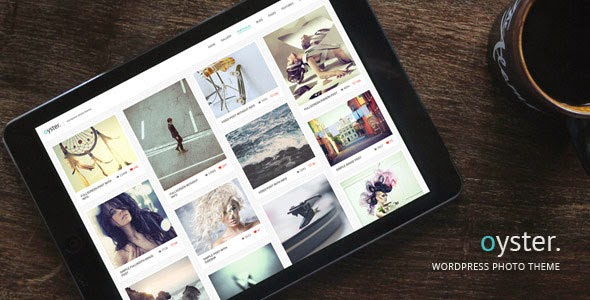 Oyster - Creative Photo WordPress Theme Free Download