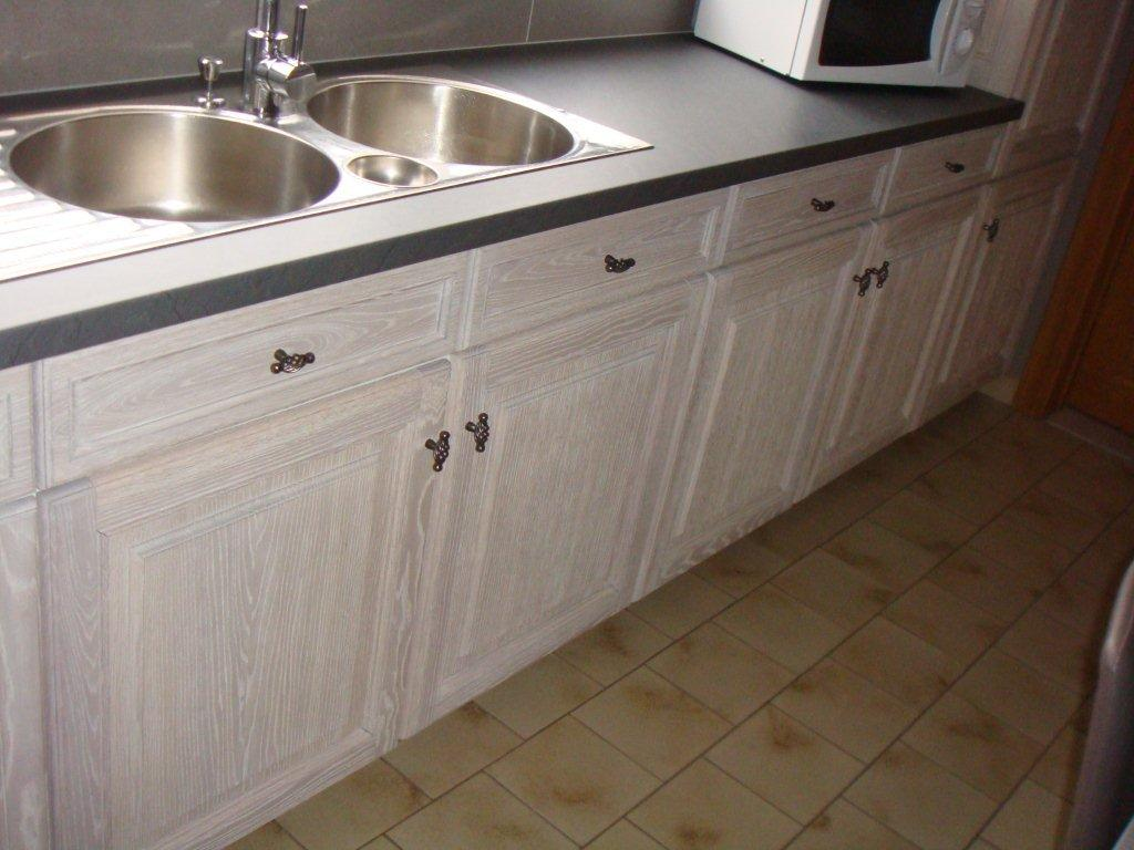 Eiken Keuken Beitsen : Eiken keuken renovatie West Vlaanderen Renovatie van