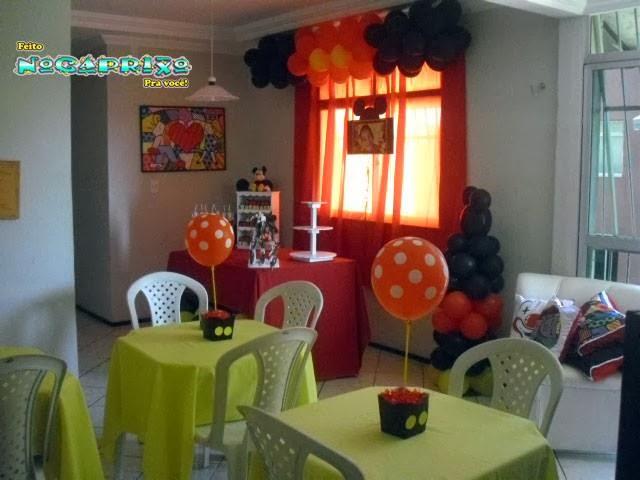 Aniversário Daniel 4 anos - Decoraçãode Balões