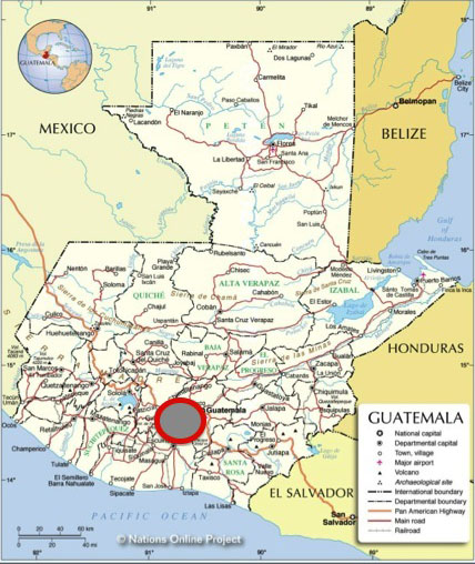 Based in Guatemala