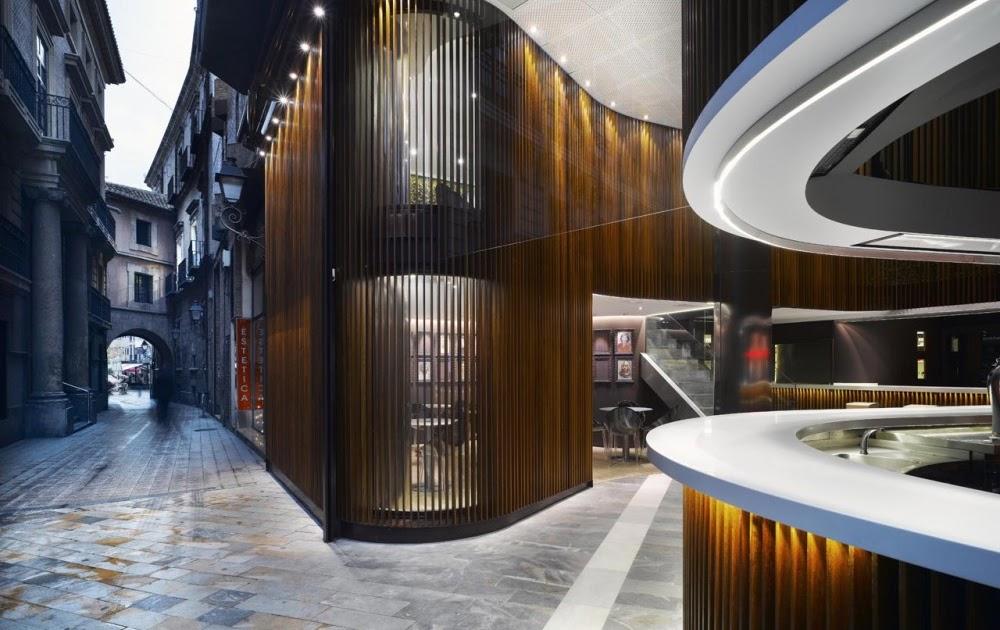 Caf del arco de clavel arquitectos blog arquitectura y dise o - Clavel arquitectos ...