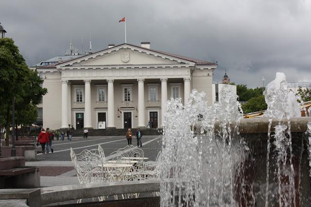 Vilnius, Vilna, Lituania, Ayuntamiento