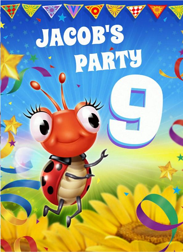 BOY'S CUSTOM BIRTHDAY PARTY