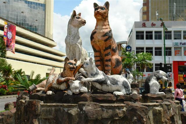Kuching, Borneo Adası Malezya