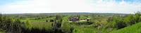 Panorama ze skarpy za 'Villa Belvedere'
