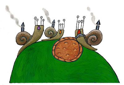 O caracol remoldiño de Óscar Villán