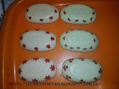 detalles de comunión - jabones personalizados