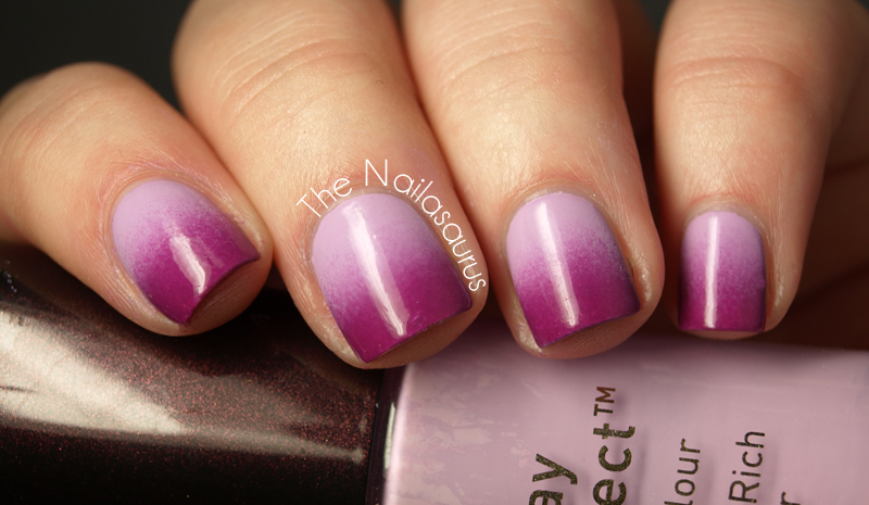 Purple Gradient Nals by The Nailasaurus