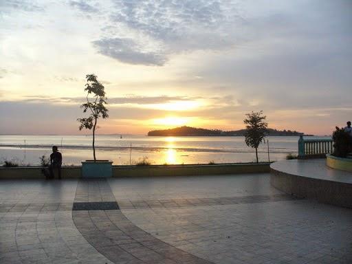 beautiful panorama penyengat island