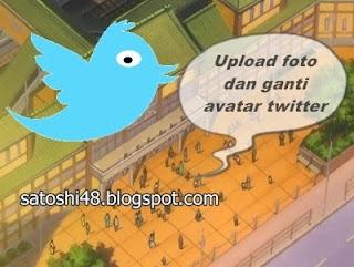 upload foto dan ubah avatar akun twitter