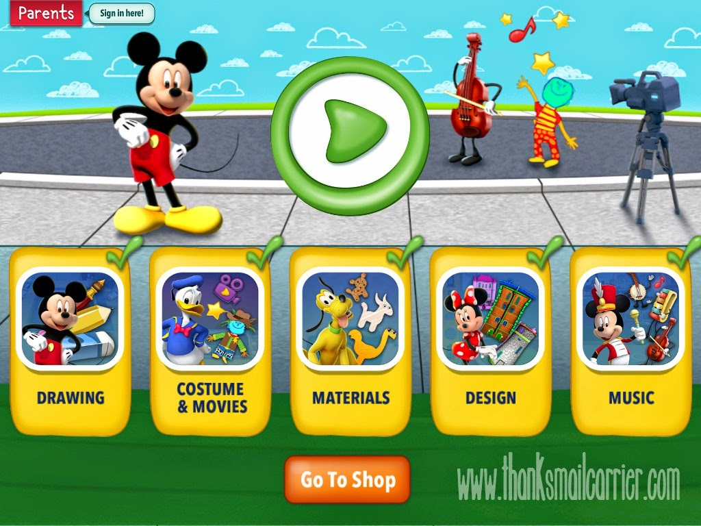 Mickey's Magical Arts World free app