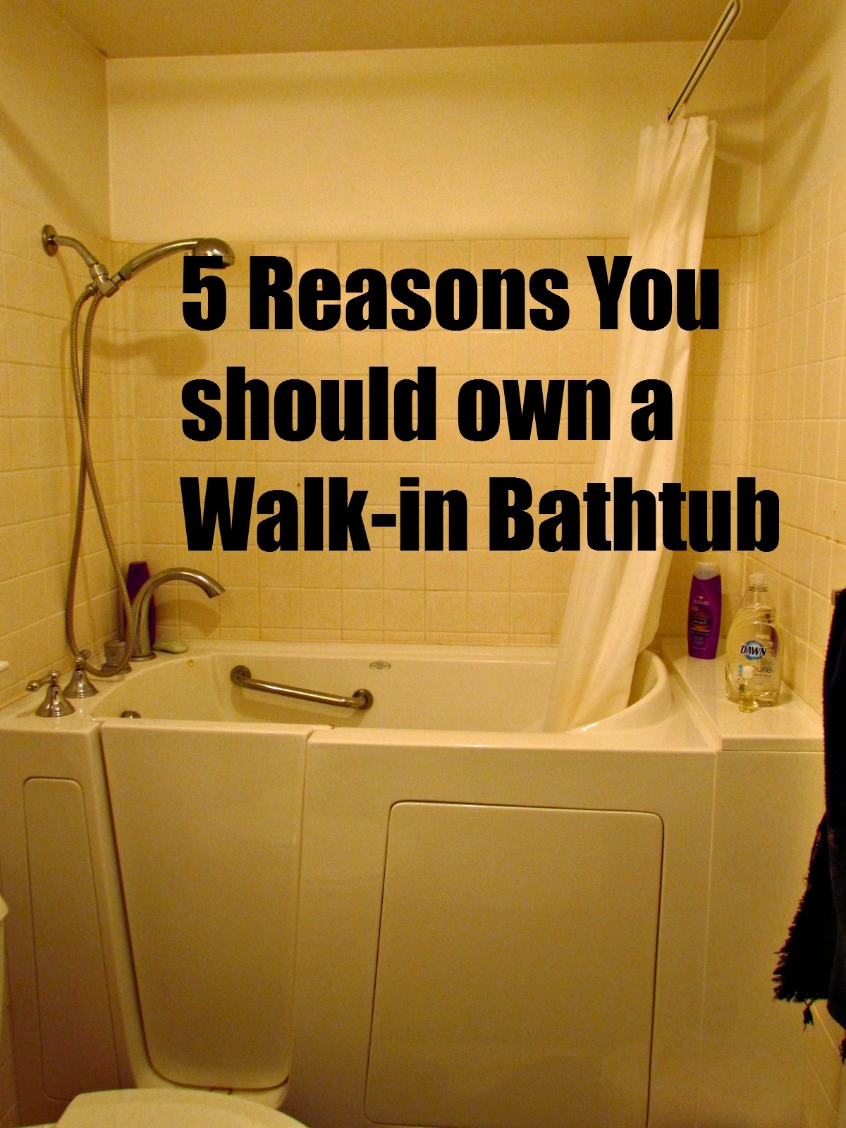 5 Awesome Reasons to own a Walk-In Bath