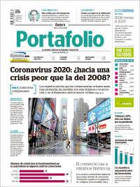 30/03/2020   UNA  PRIMERA PÁGINA DE LA PRENSA COLOMBIANA