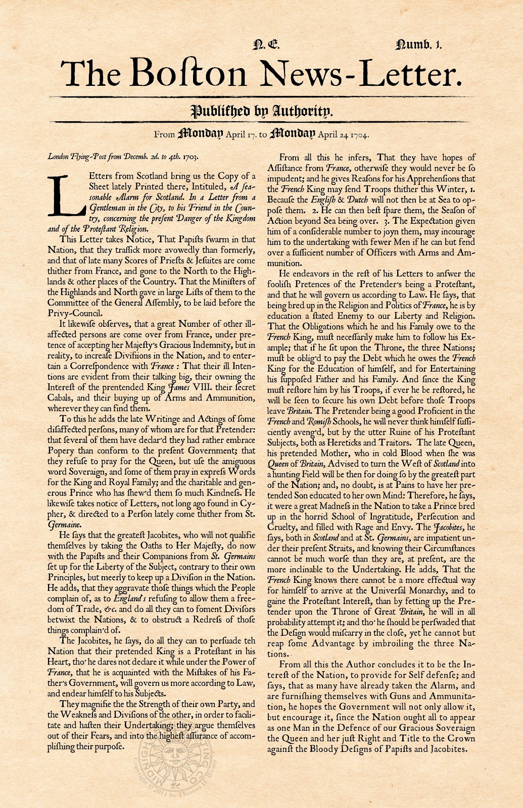 Printology Newspaper The History Behind The News