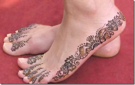 Feet Mehndi Designs Photos : Mehndi design: foot mehandi design part 12