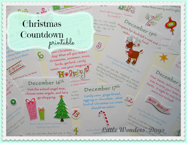 http://littlewondersdays.blogspot.com/2013/11/printable-christmas-countdown.html