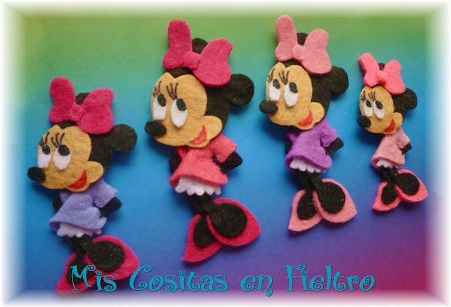 Broches de fieltro Disney - Imagui