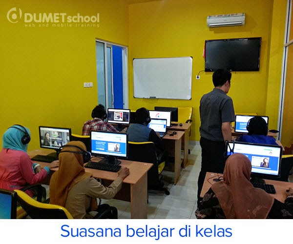Suasana Belajar di Kelas
