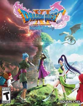 Dragon Quest XI - Echoes of an Elusive Age Jogos Torrent Download capa