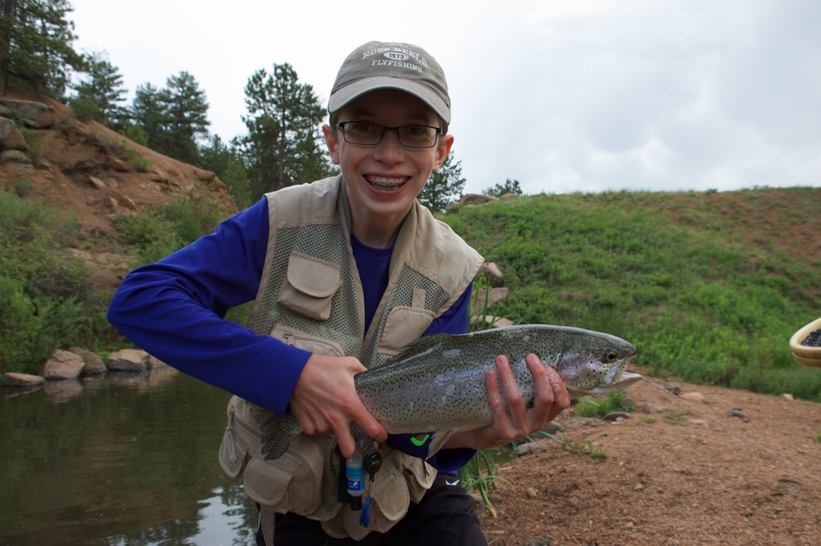 Jamie 39 s fly fishing journal rainbow falls with the fitch clan for Fly fishing journal