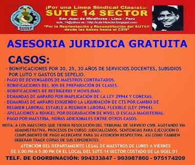 ASESORÍA JURÍDICA GRATUITA DE LUNES A VIERNES