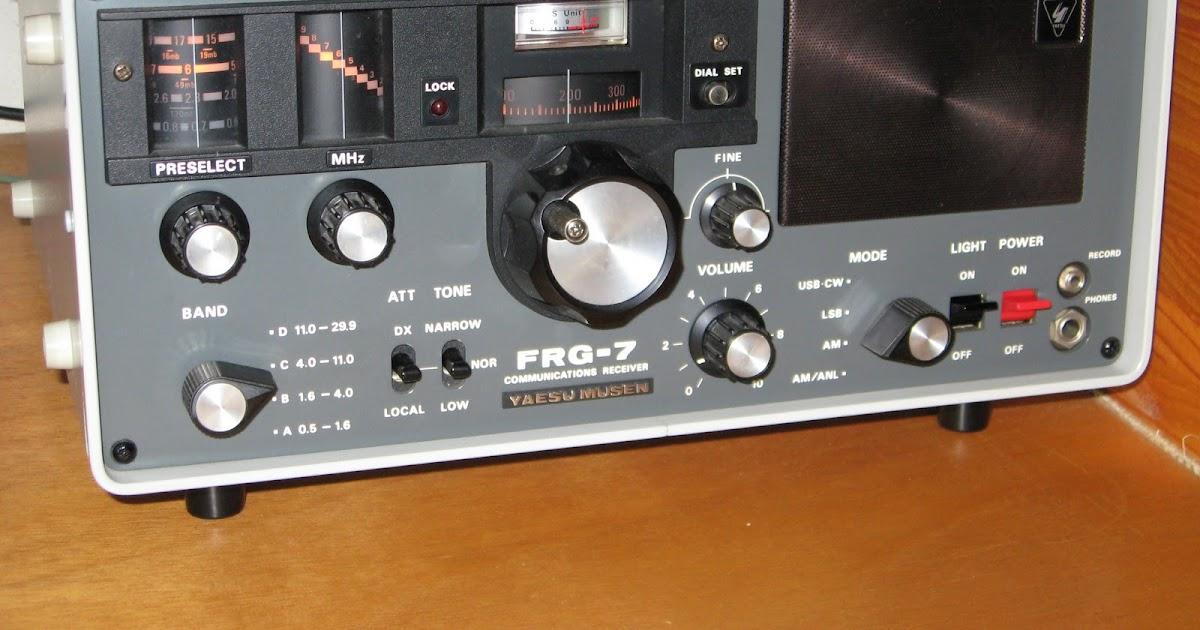 yaesu frg communications receiver product review  shortwave, wiring diagram