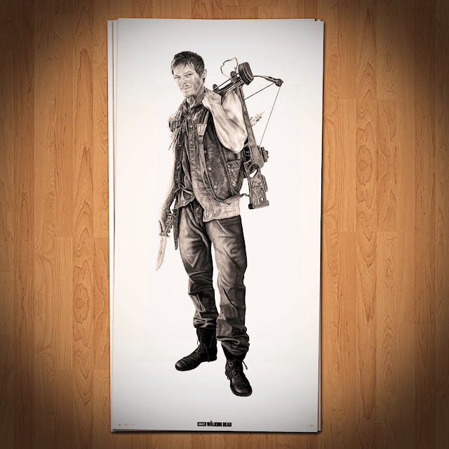 Daryl Dixon prints by Joel Daniel Phillips