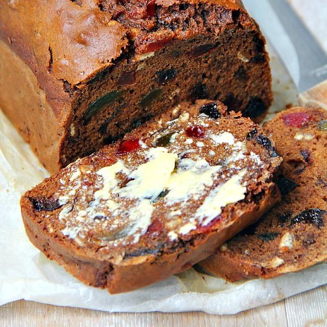 Cake With Fruit Soaked In Tea : singapore shiok!: tea brack (tea soaked fruit loaf)