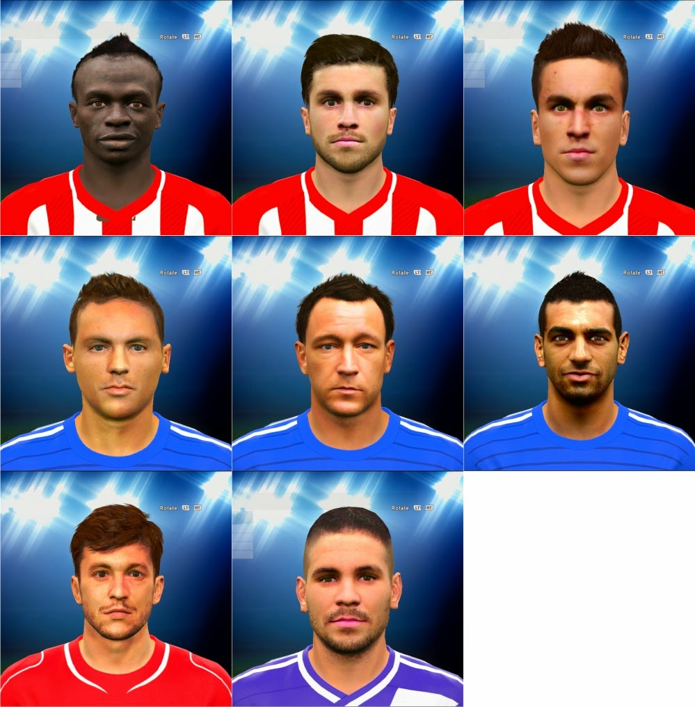 PES 2015 Facepack 1.0 by EmiratZ