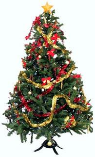 pohon natal, desain pohon natal, pohon natal sederhana dan unik