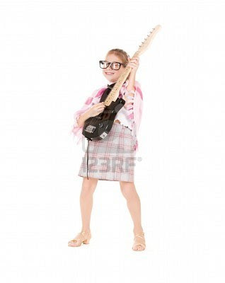 Electric Guitar Funny Picture