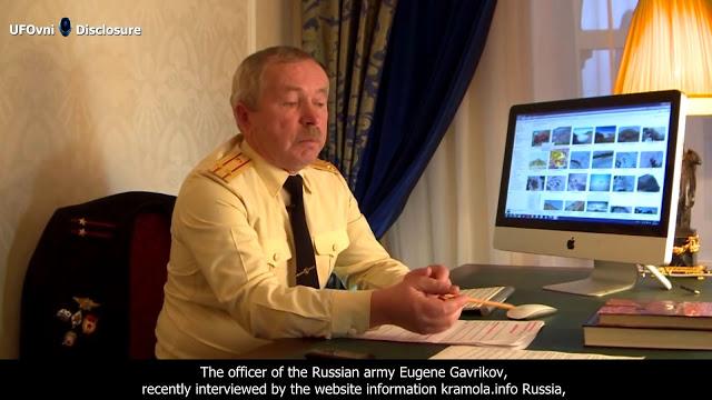 """Armée officiel russe a révélé : """"dans l'Antarctique se cachent des pyramides, Stargate et les struc"""