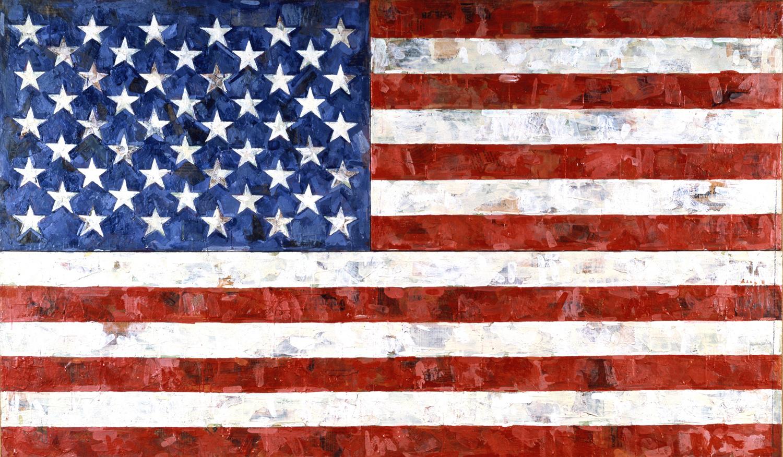 Art and About: Melissa Vandenberg and Jasper Johns Famous American Flag Art