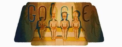 Doodle Abu Simbel