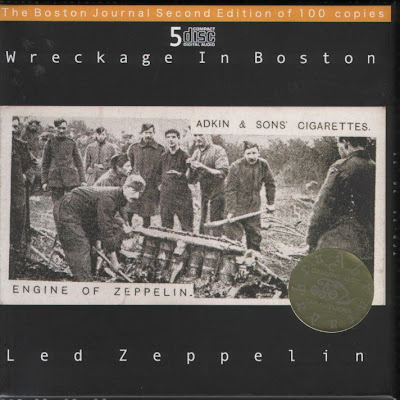Led Zeppelin - Wreckage In Boston (FLAC)