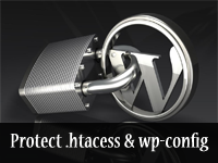 protecting wp-config and htaccess