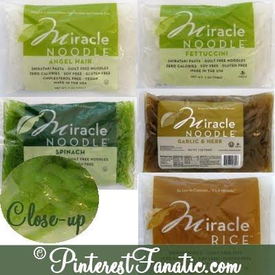 Miracle Noodles, Shrimp Fettuccini, Zero Calorie Noodle