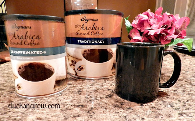 Wegmans coffee, Arabica coffee, storing coffee