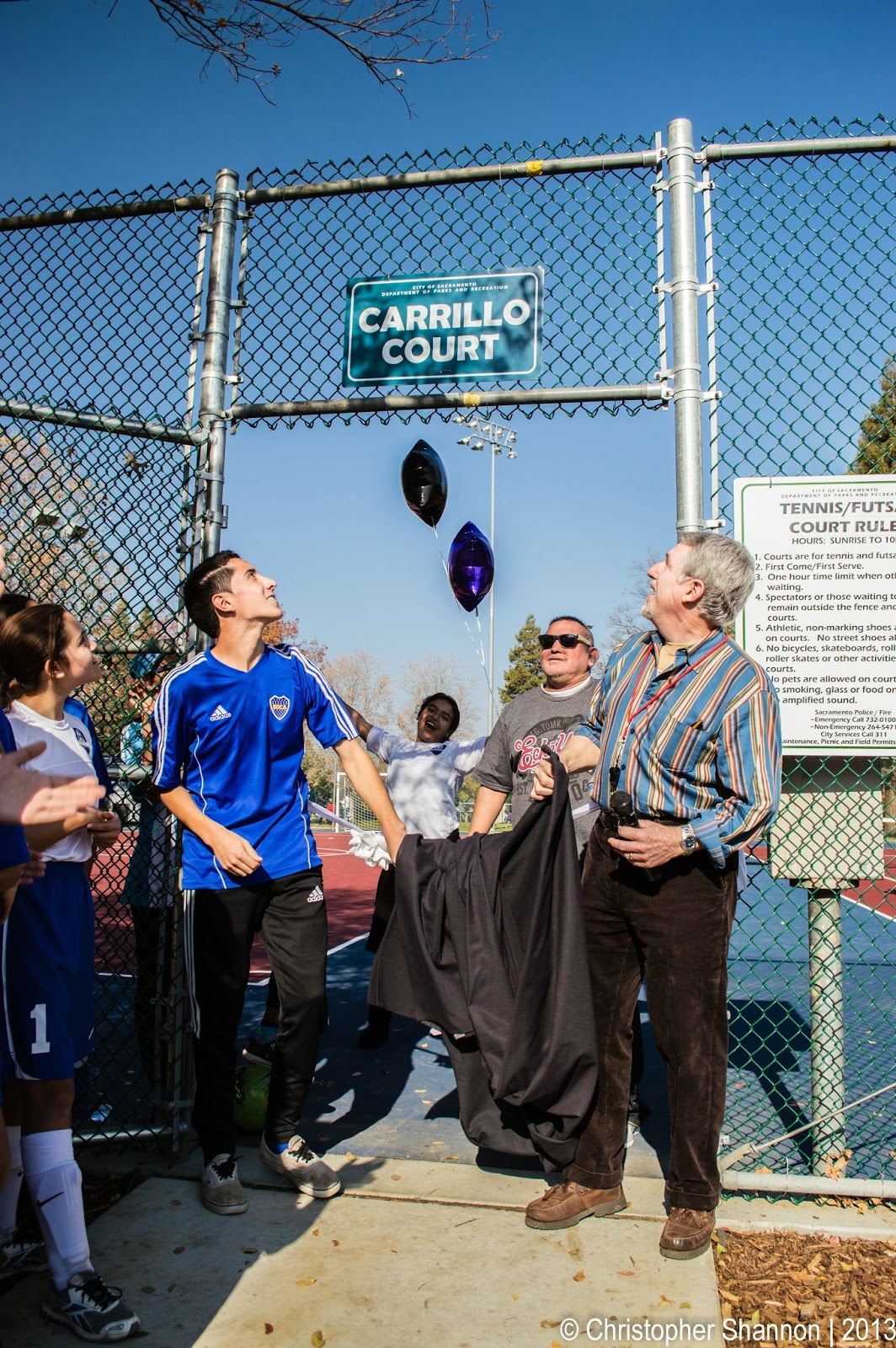 Re-dedication of Northgate Park
