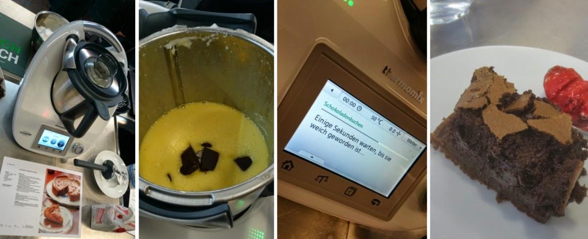 Zubereitung Schokoladenkuchen im Thermomix
