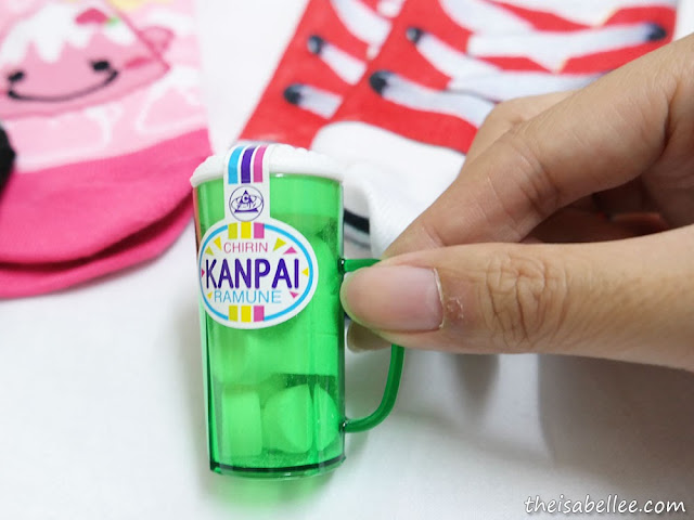 Kanpai Ramune sweet from Japan