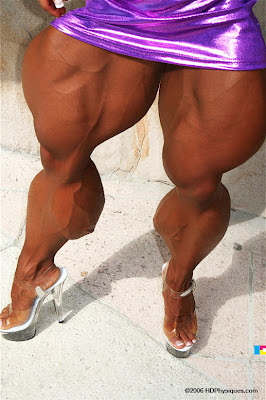 Barbara Fletcher legs
